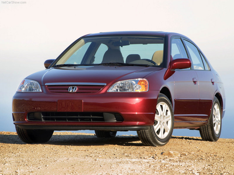 2001 Honda Civic #11