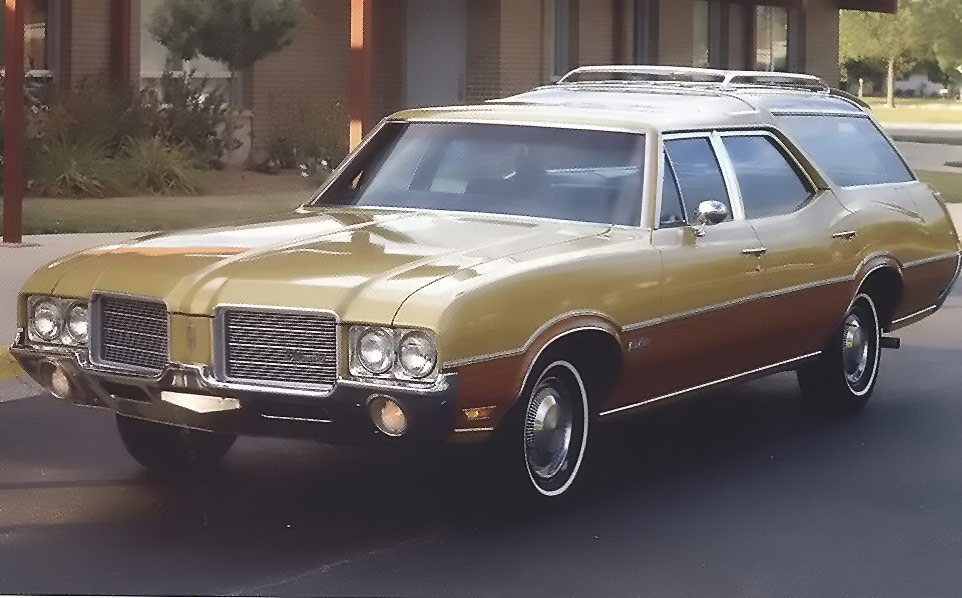 1971 Oldsmobile Vista Cruiser #2