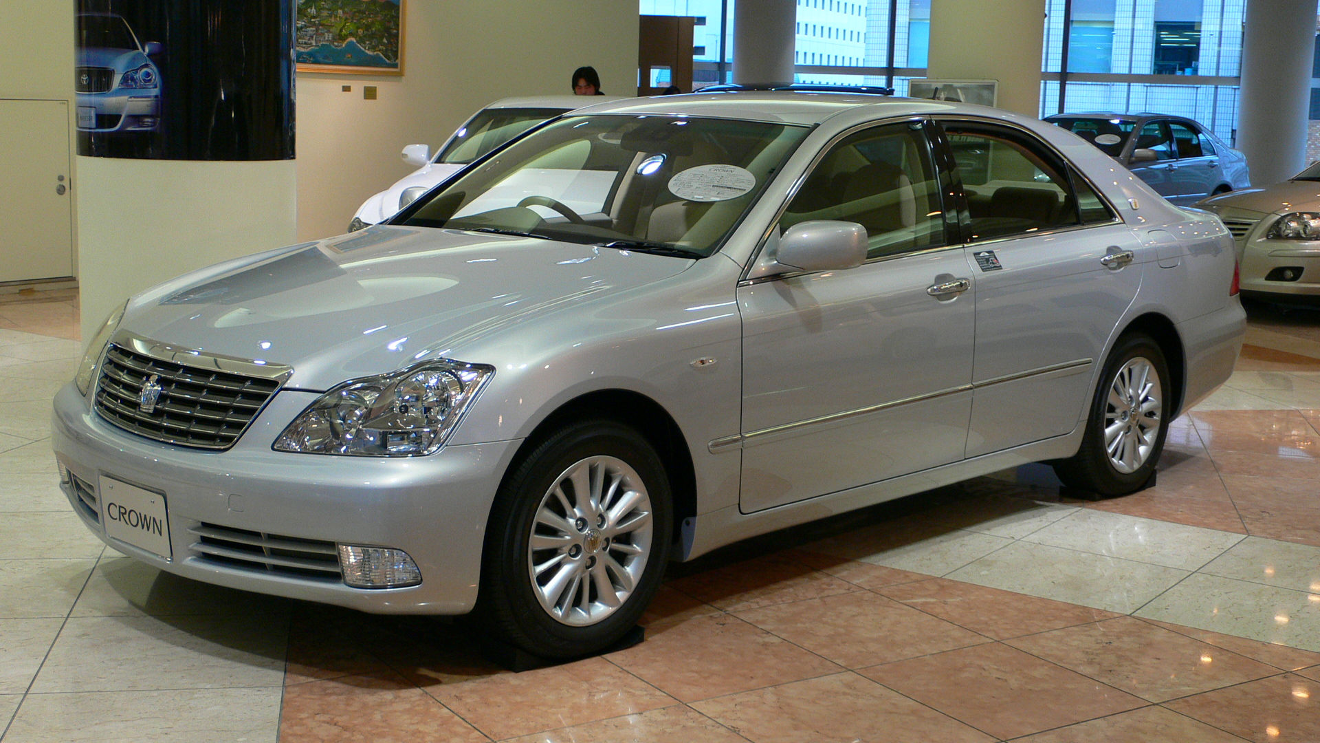 2003 Toyota Crown #8