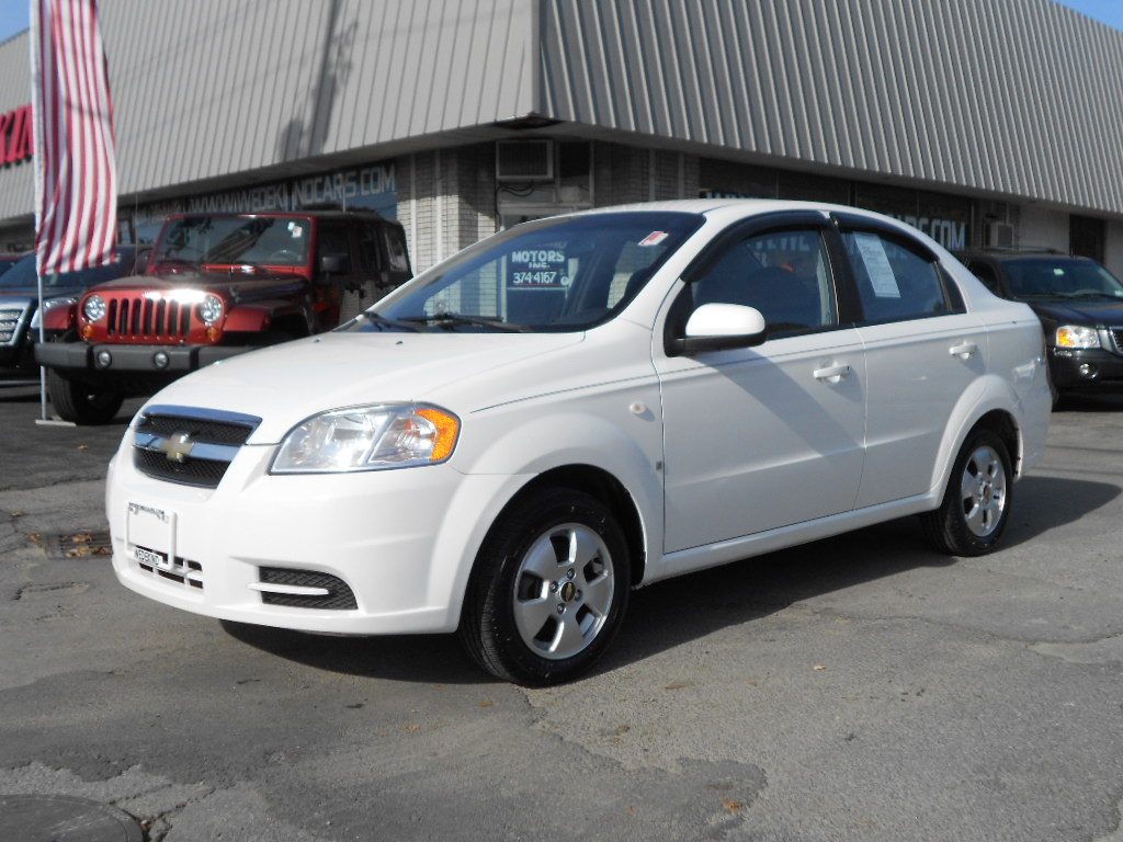 2007 chevrolet aveo photos informations articles. Black Bedroom Furniture Sets. Home Design Ideas