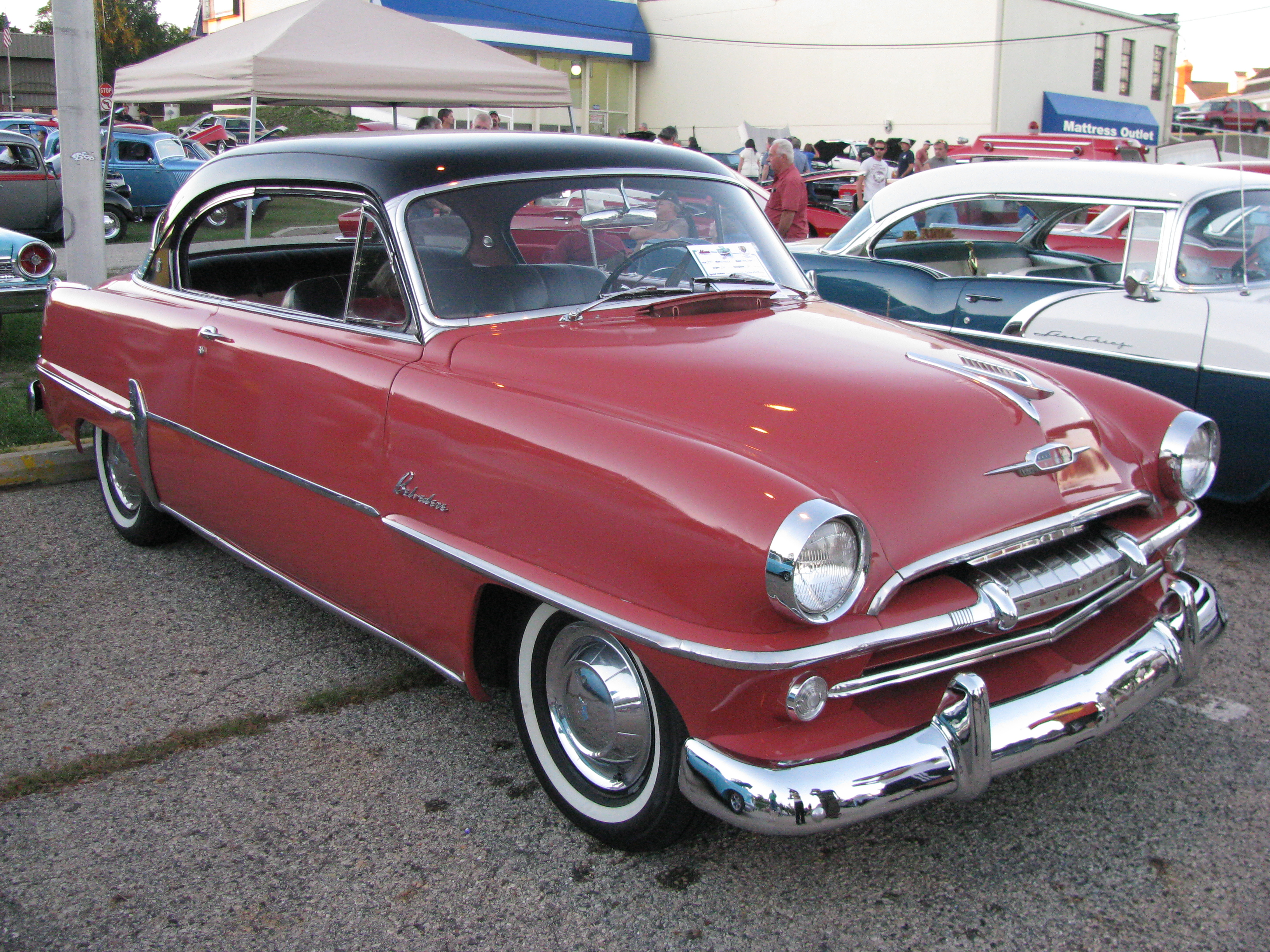 1954 Plymouth Belvedere Photos Informations Articles Wiring Diagram 9
