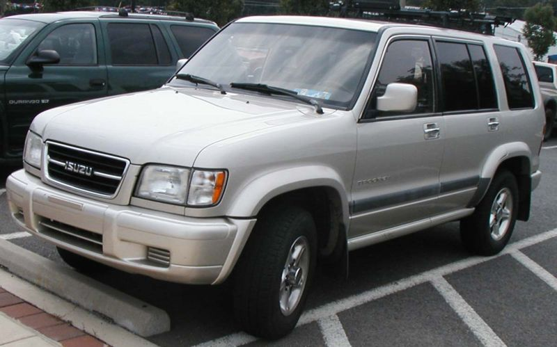 2001 Isuzu Trooper #7