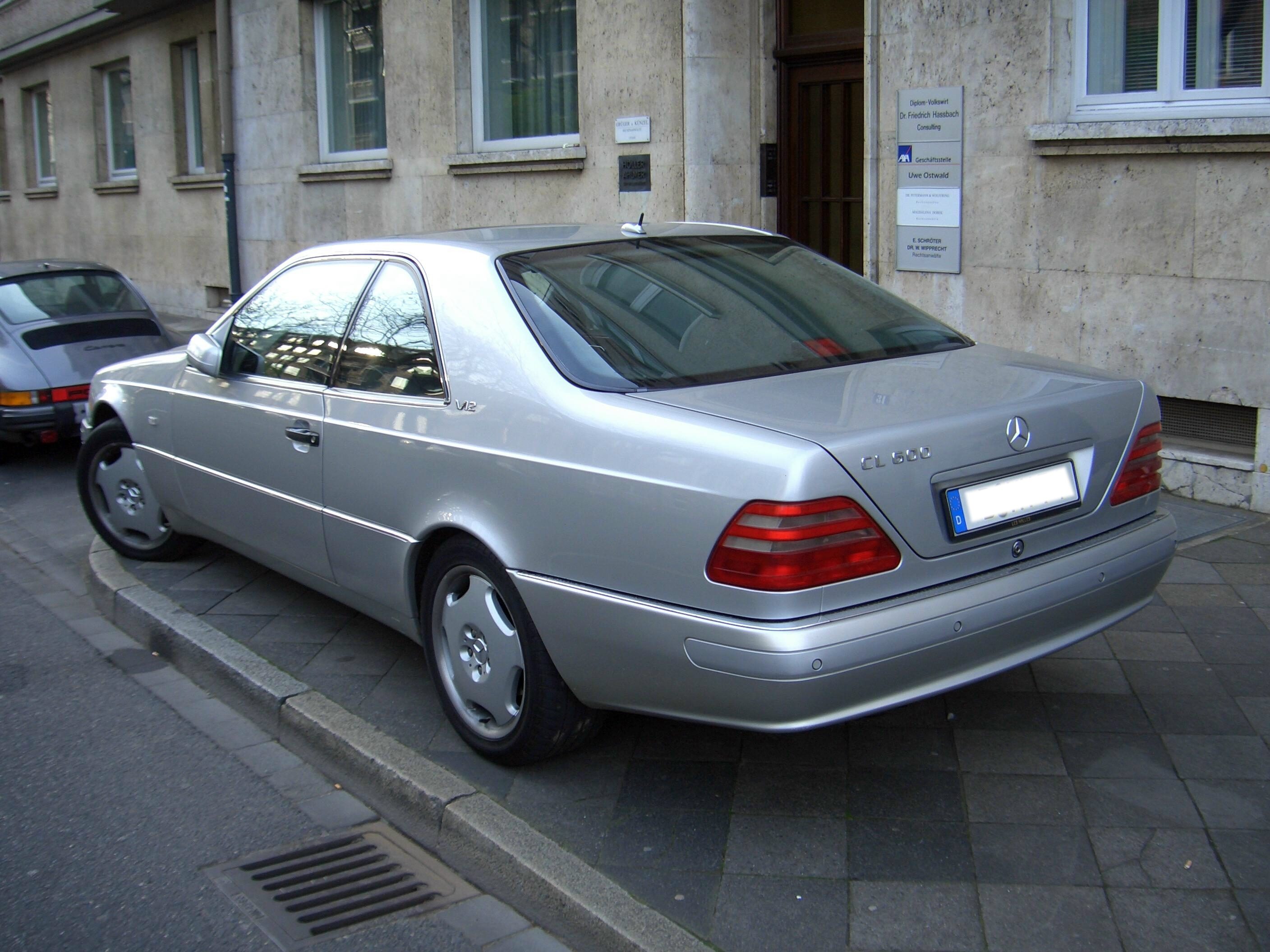 1998 Mercedes Benz CL #2