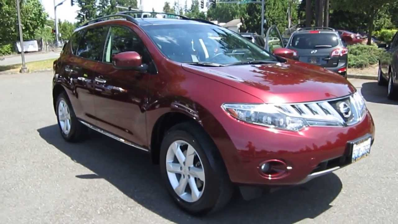 2009 Nissan Murano Photos Informations Articles