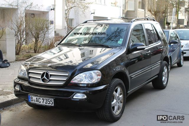 2003 mercedes benz ml photos informations articles. Black Bedroom Furniture Sets. Home Design Ideas