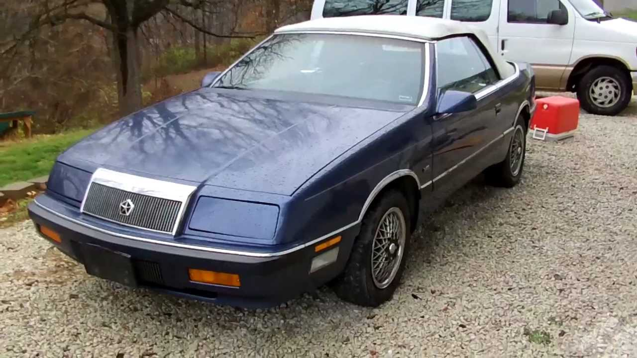 1990 Chrysler Le Baron #4
