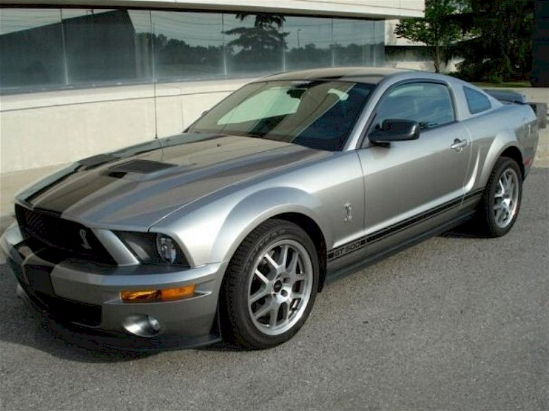 2009 Ford Shelby GT 500 #18