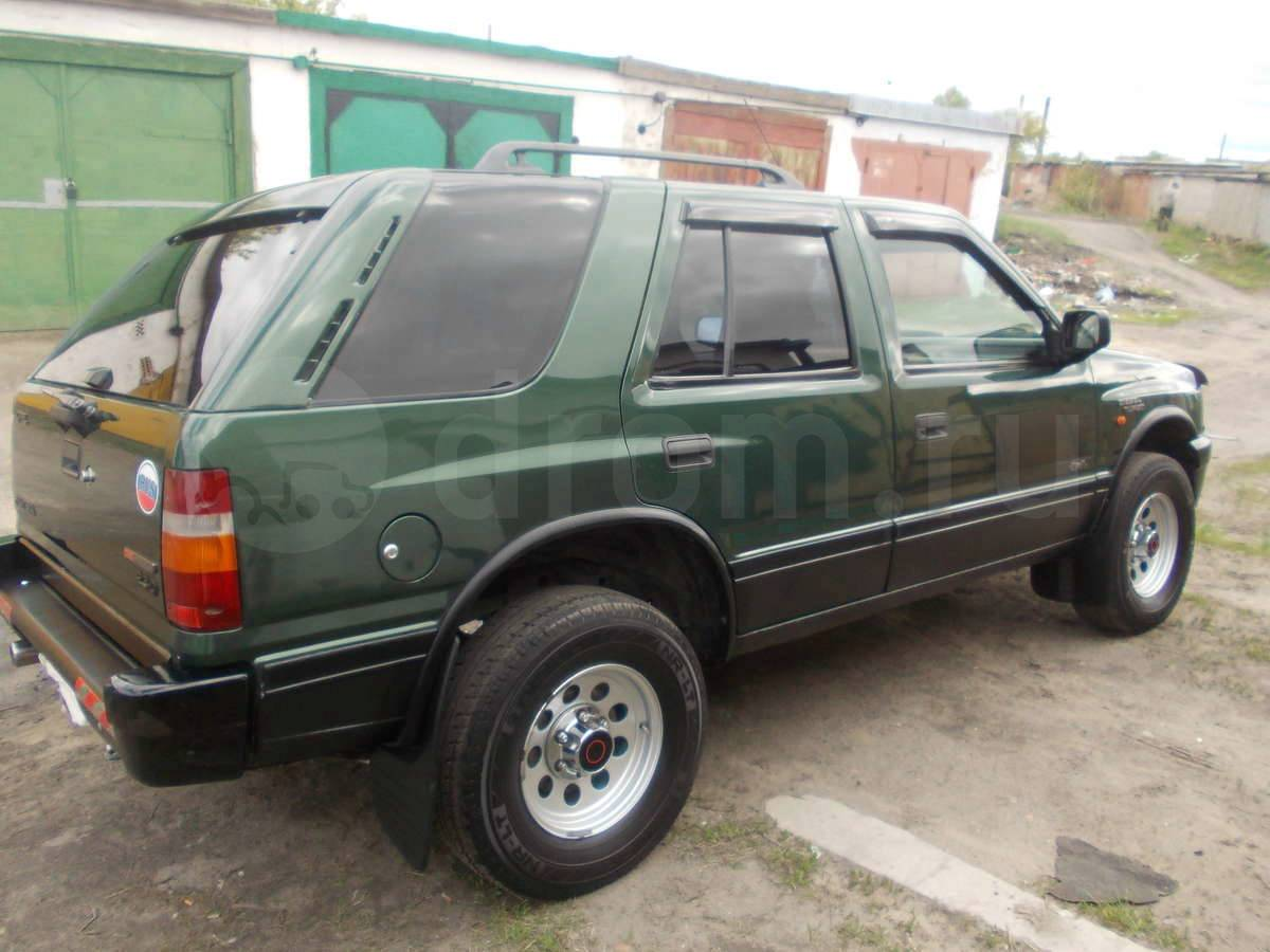 1993 opel frontera photos informations articles. Black Bedroom Furniture Sets. Home Design Ideas