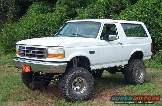 1995 Ford Bronco #17
