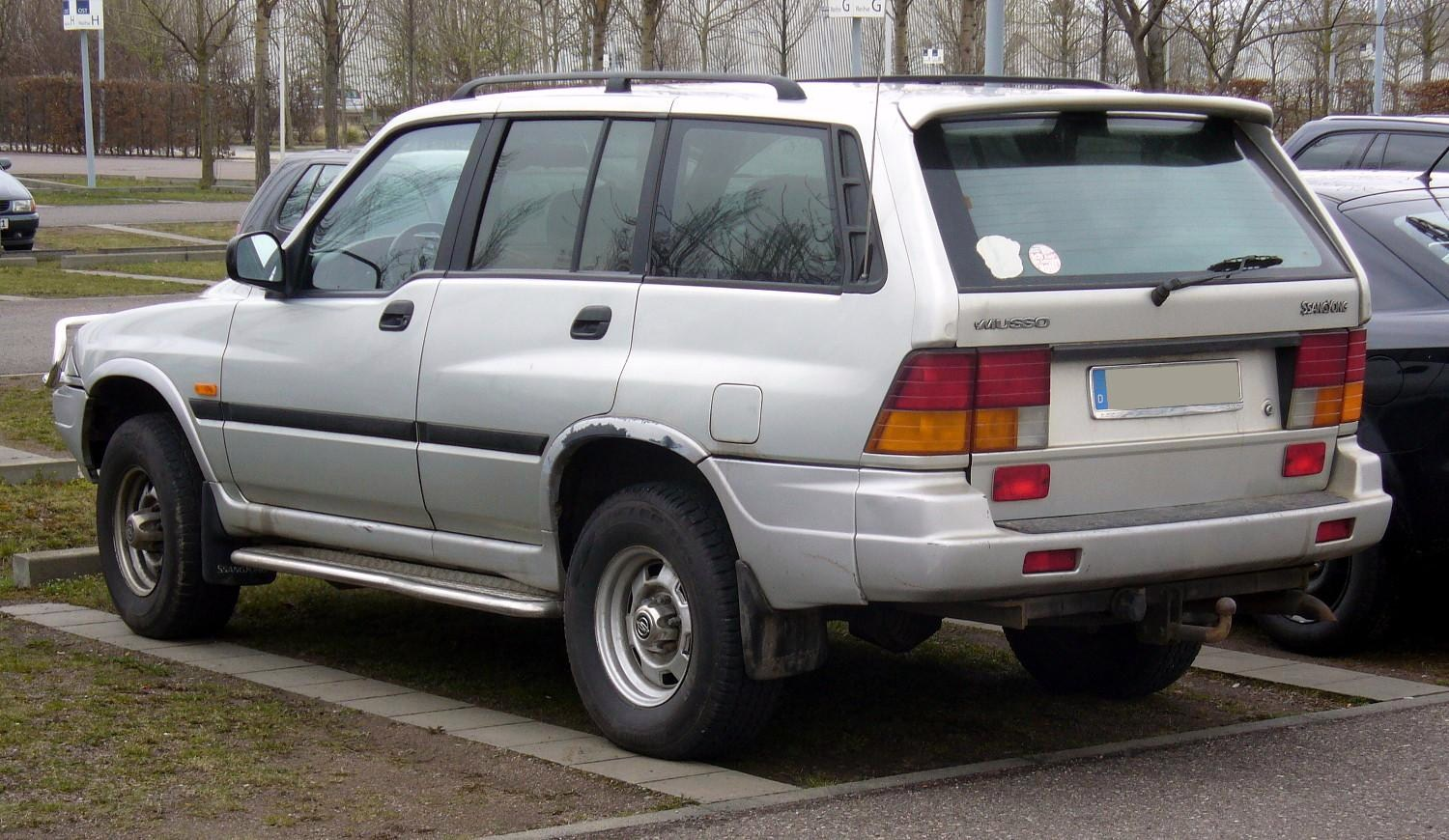 2002 Ssangyong Musso #14