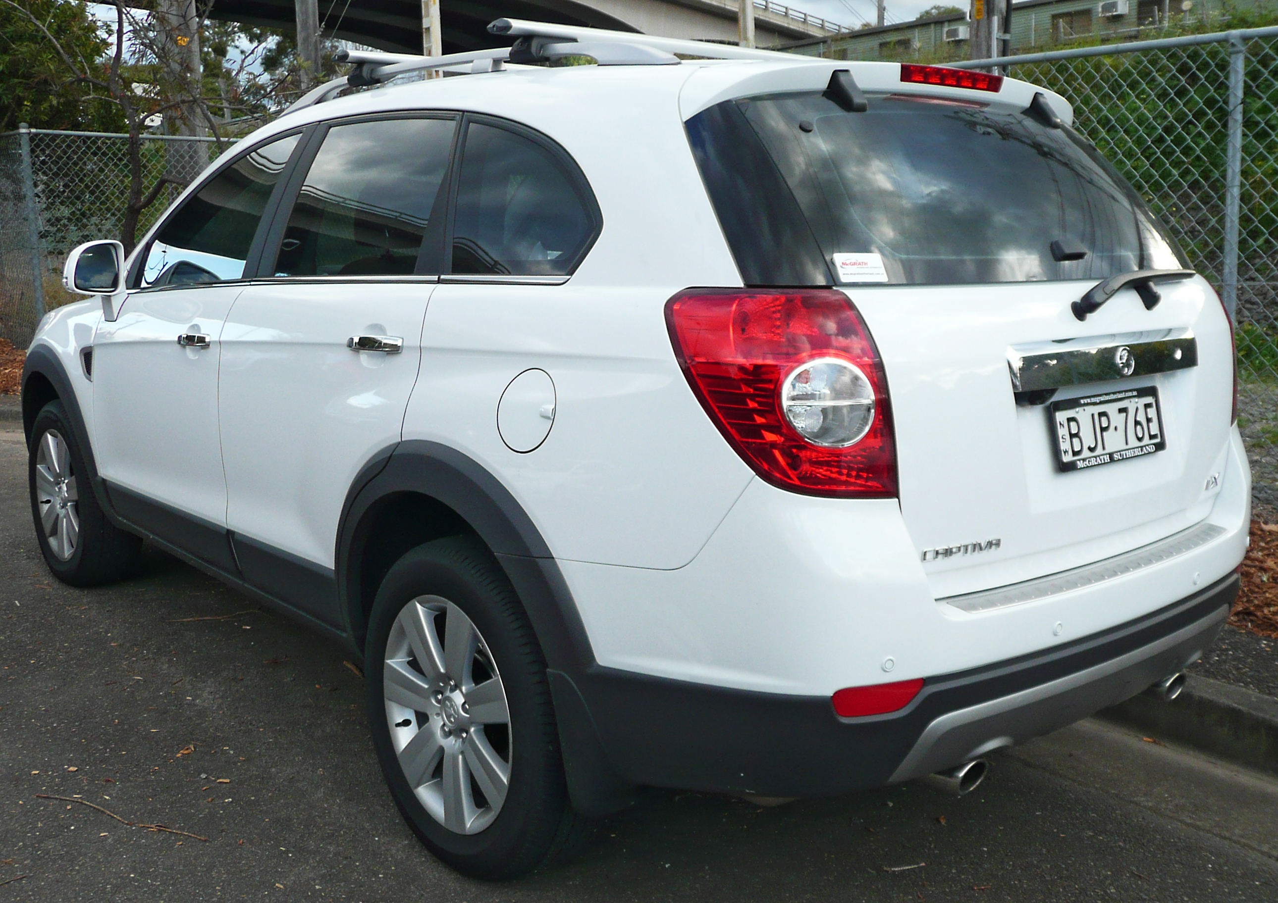 2008 Holden Captiva #8