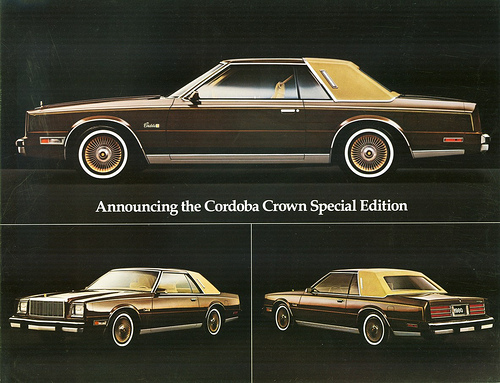 1980 Chrysler Cordoba #6