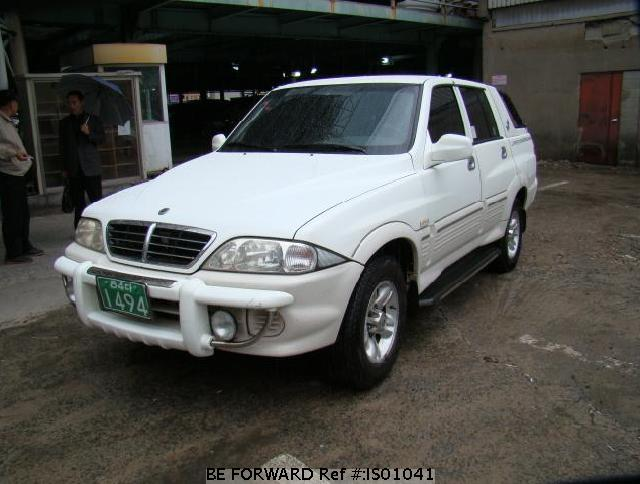 2004 Ssangyong Musso #7