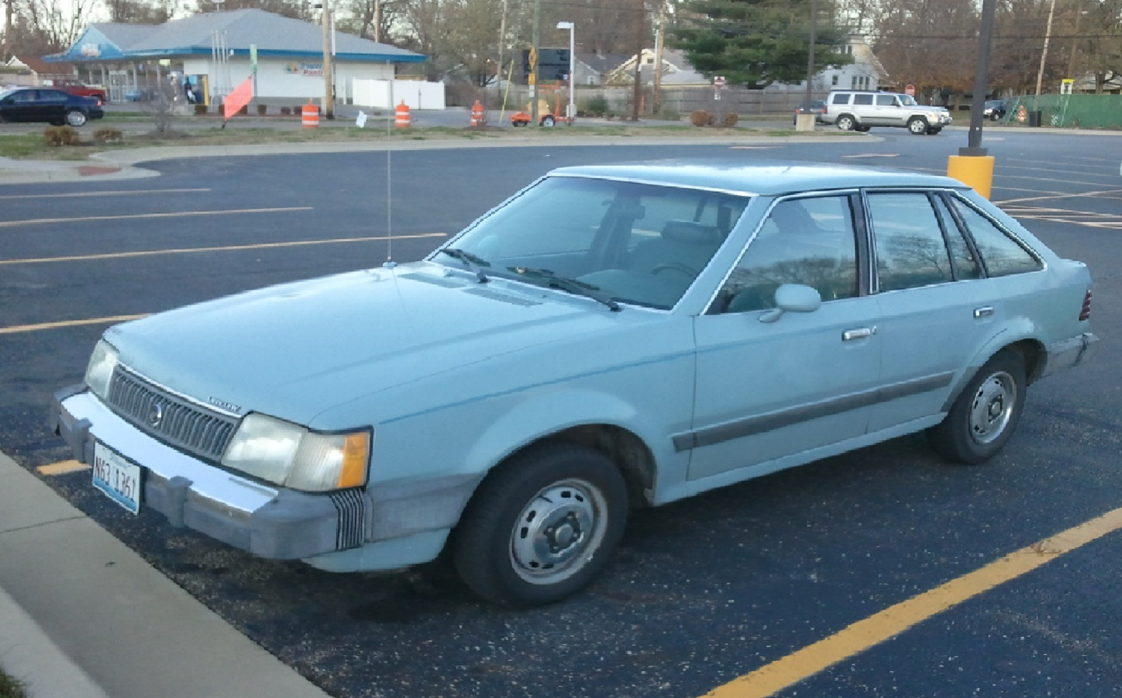 1986 Mercury Lynx Photos Informations Articles 1999 Cougar Starter Wiring 1