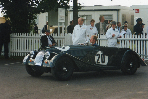 1955 Morgan Plus 4 #11