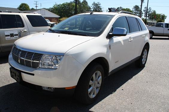 2008 Lincoln Mkx #8