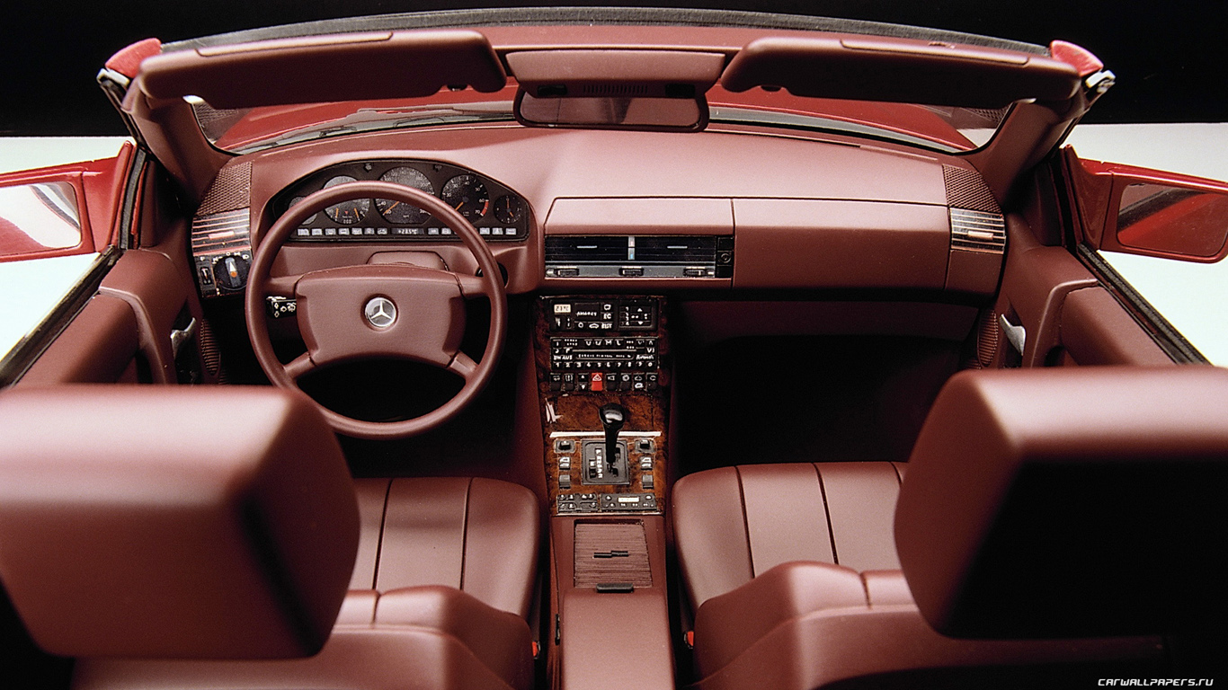 1989 Mercedes-Benz SL #8