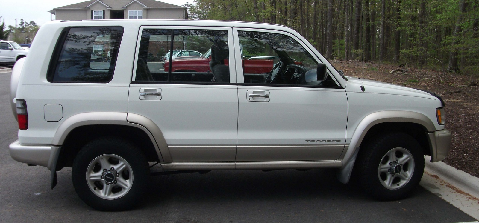 2001 Isuzu Trooper #8
