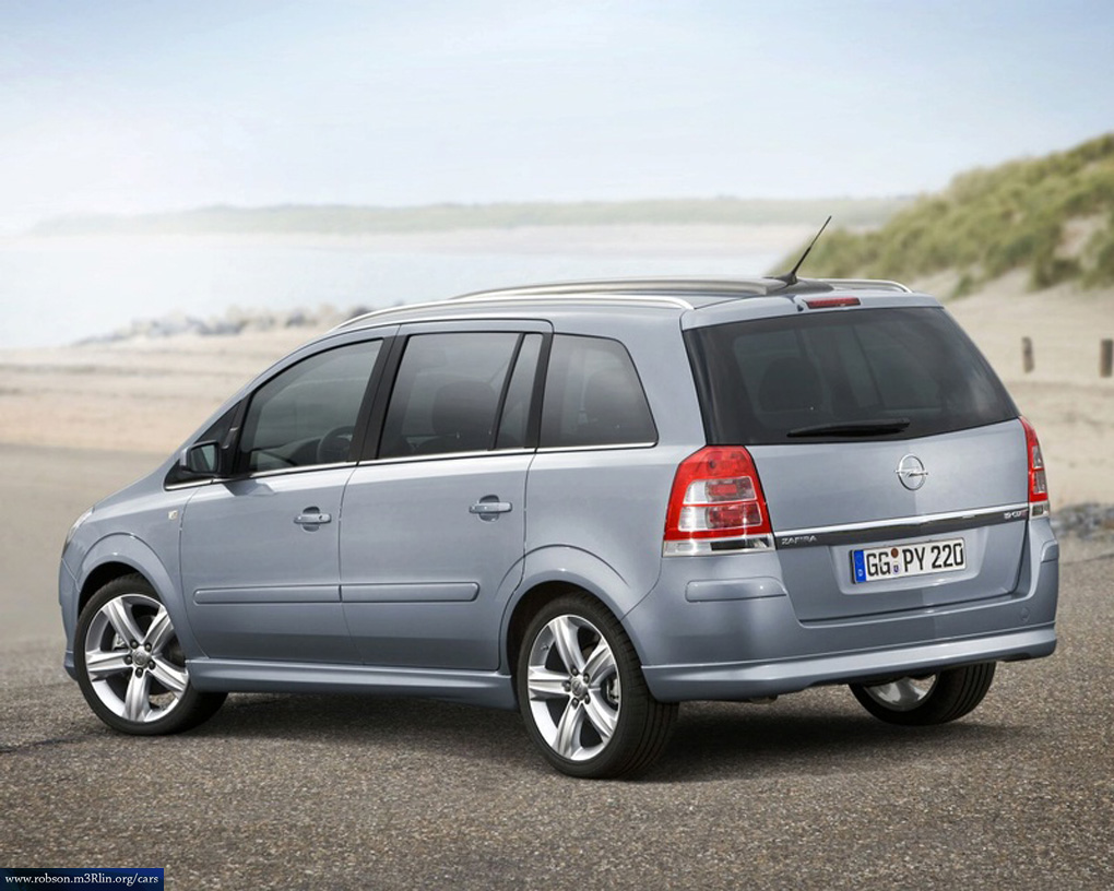 2007 opel zafira photos informations articles. Black Bedroom Furniture Sets. Home Design Ideas