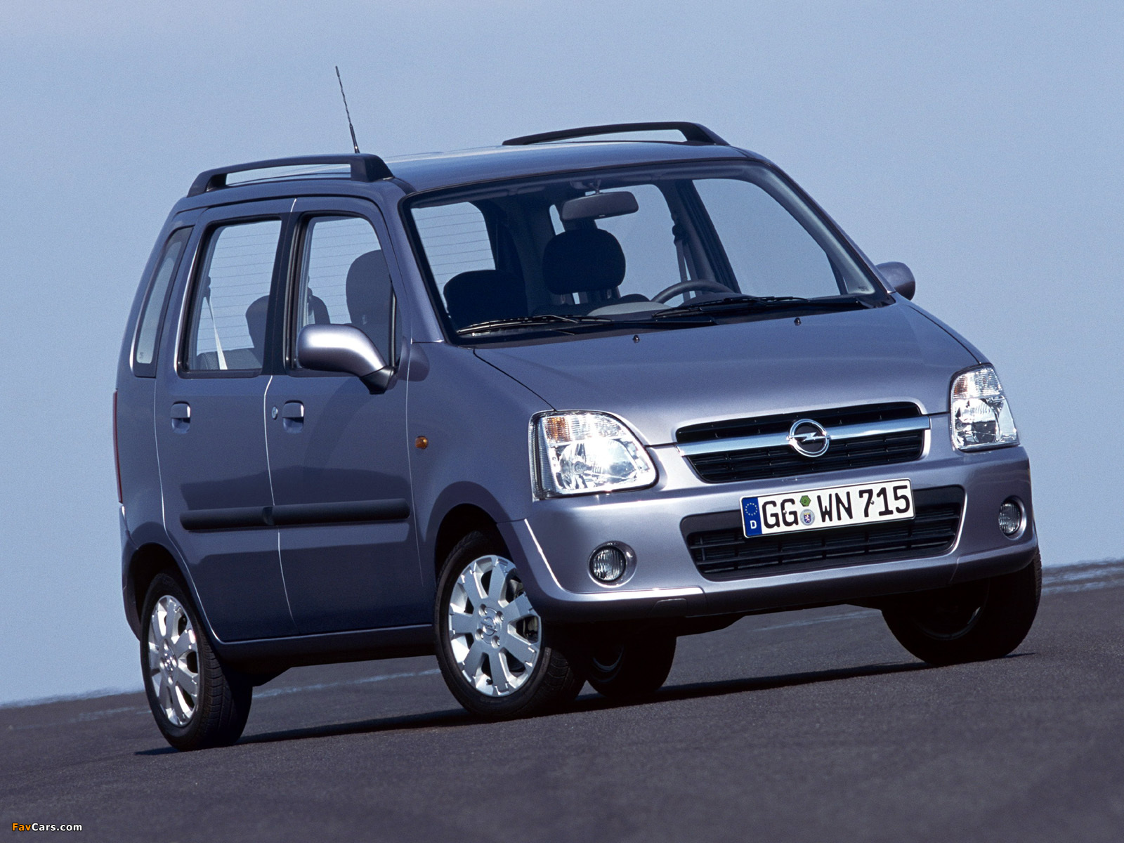 2004 opel agila photos informations articles. Black Bedroom Furniture Sets. Home Design Ideas