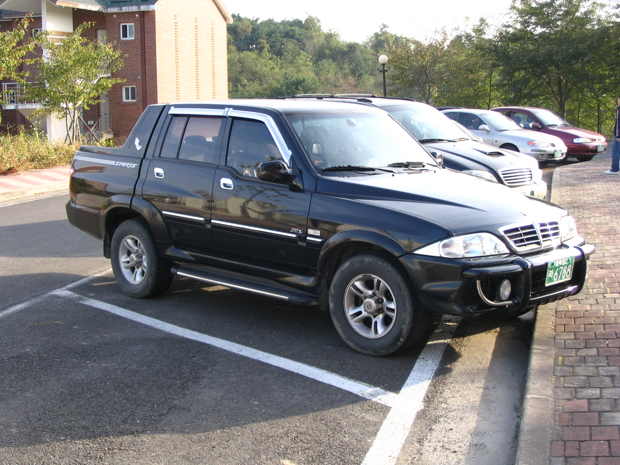 2002 Ssangyong Musso #16
