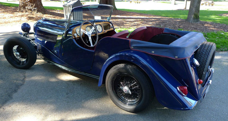 1957 Morgan Plus 4 #4