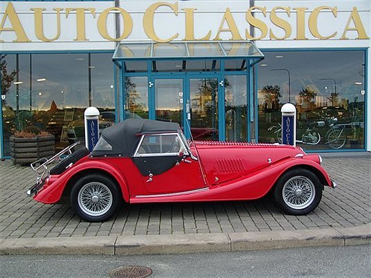 1997 Morgan Plus 4 #5