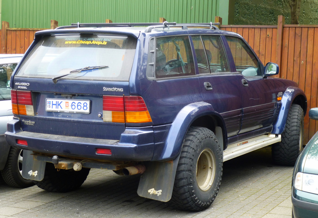 1997 Ssangyong Musso #6
