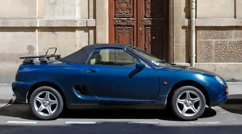 1995 Rover MGF #6