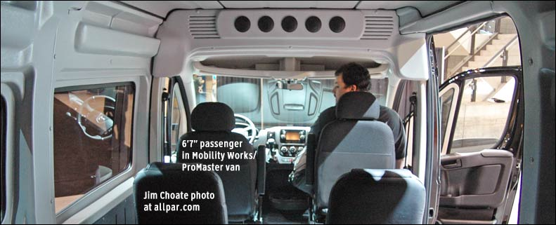 2015 Ram Promaster Window Van #8