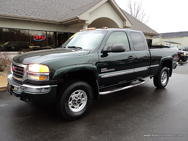 2003 GMC Sierra 2500hd #5