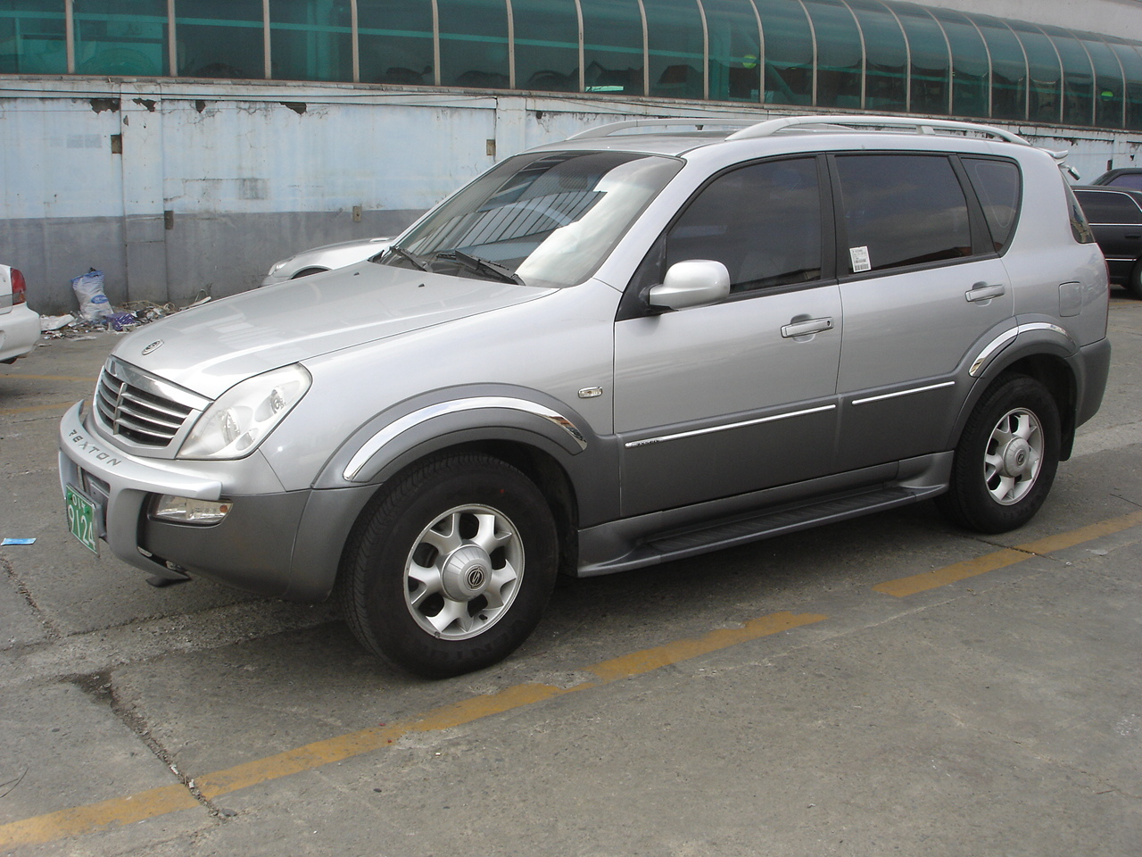 2004 Ssangyong Musso #13