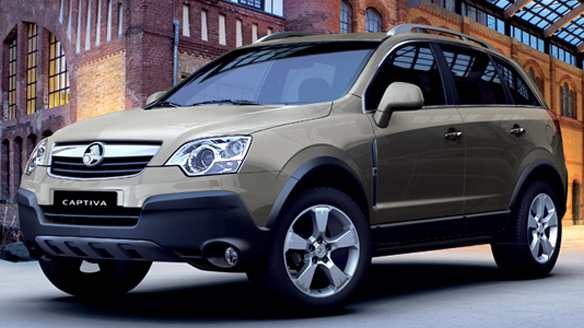 2007 Holden Captiva #7