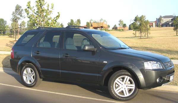 2007 Ford Territory #8