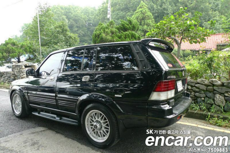 1997 Ssangyong Musso #3