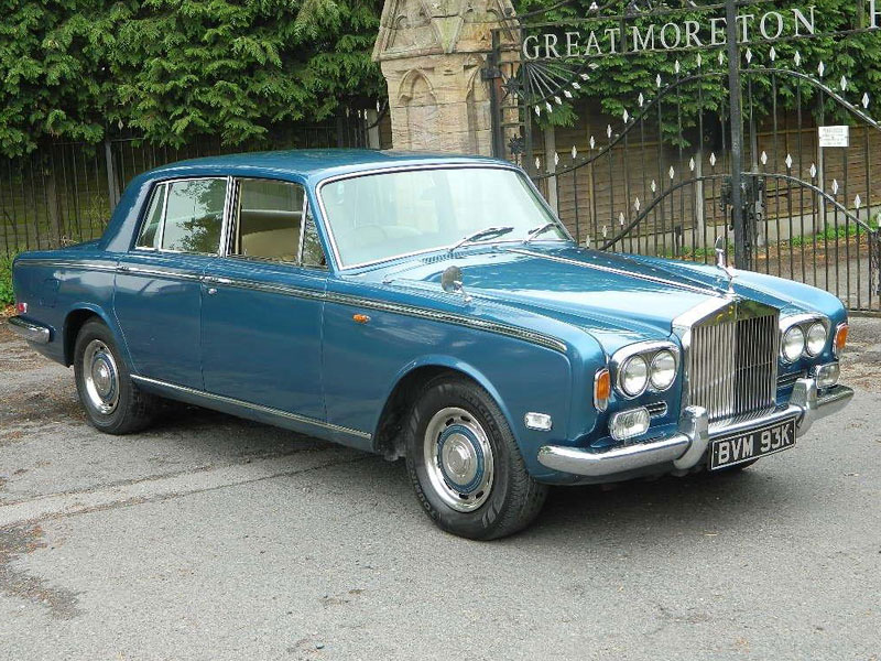 1972 Rolls royce Silver Shadow #10