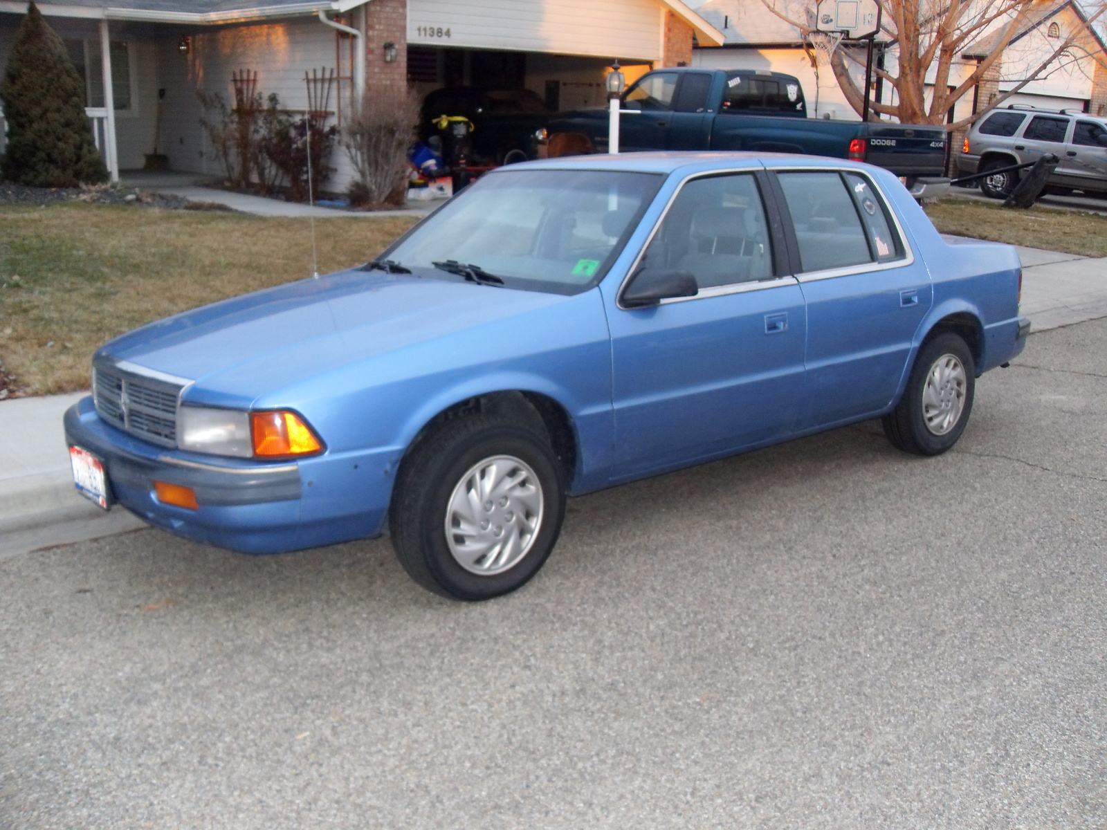1990 Dodge Spirit Photos Informations Articles Bestcarmag Com