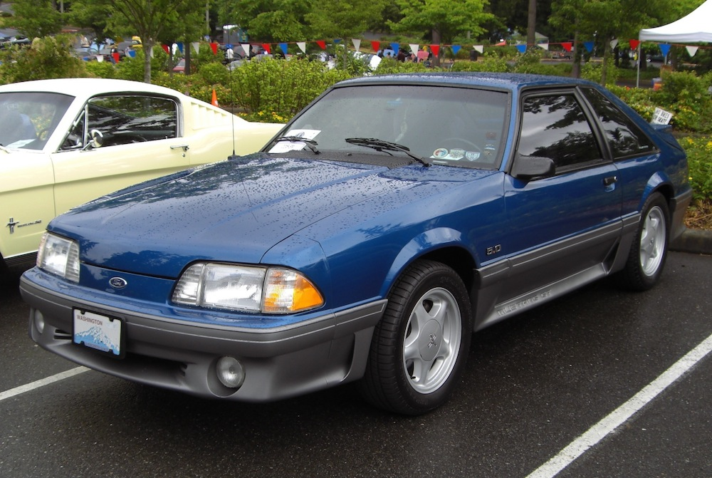 1992 Ford Mustang #4