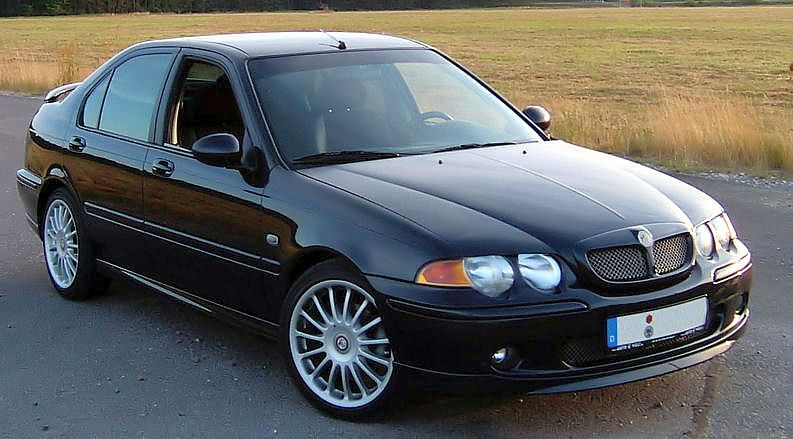 2001 MG Rover #4
