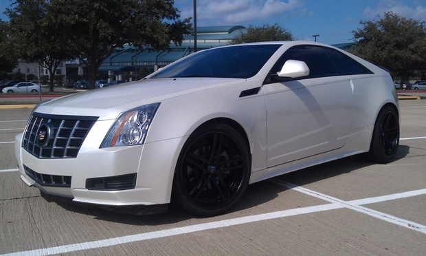 2012 Cadillac Cts Coupe #8