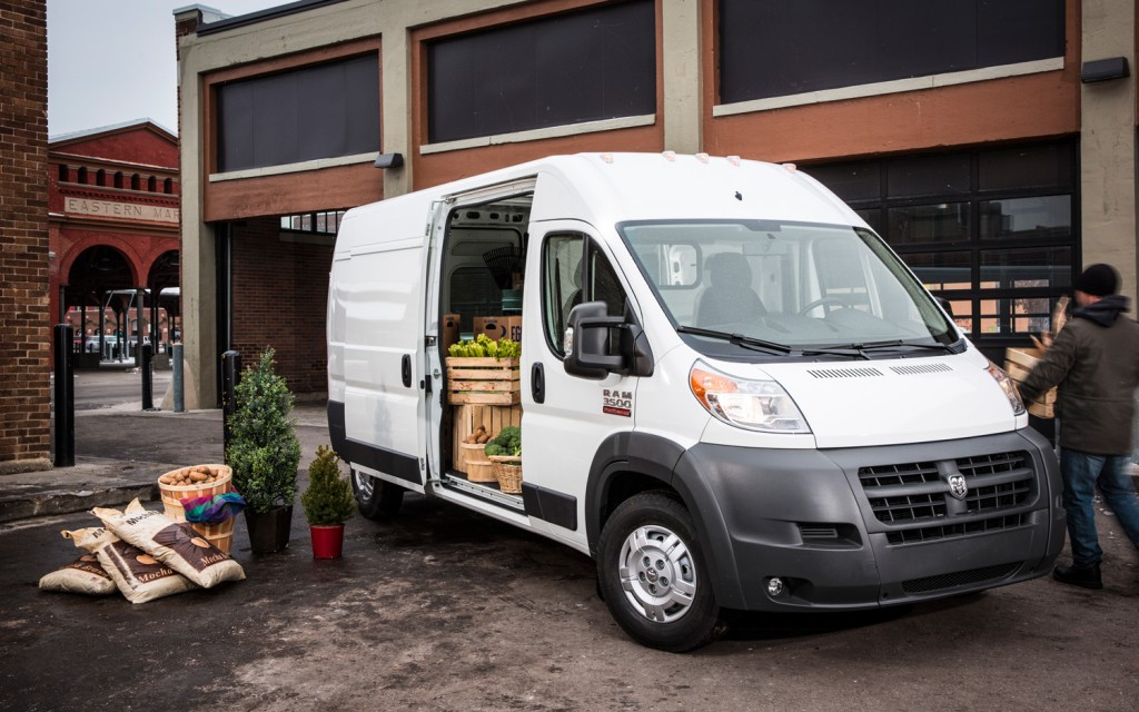 2014 Ram Promaster Window Van #7