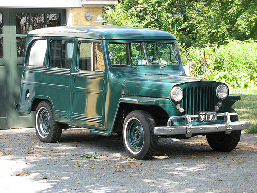 1948 Jeep Station Wagon #1