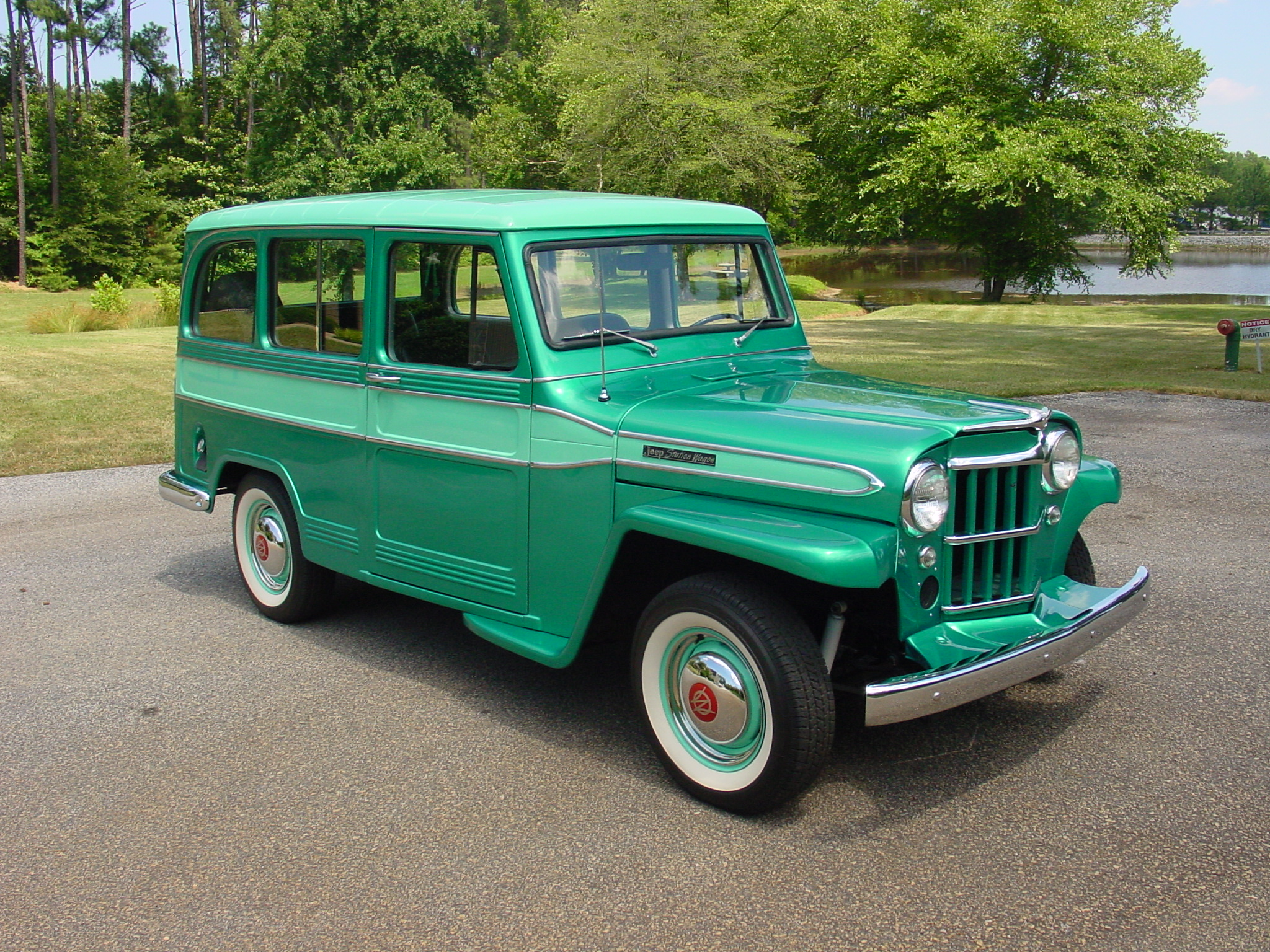 1948 Jeep Station Wagon #11