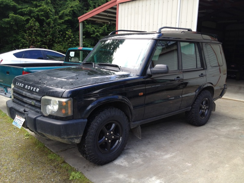 2003 Land Rover Discovery #4