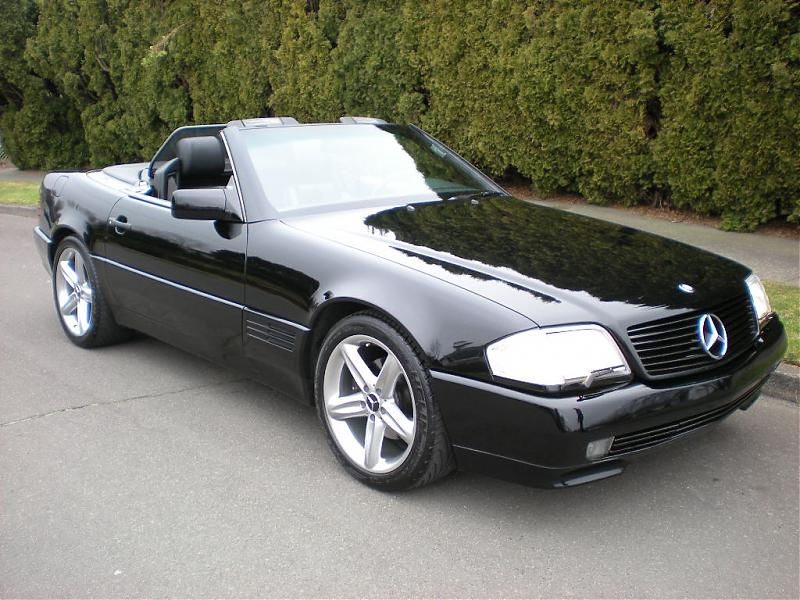 1990 mercedes benz sl photos informations articles for How much is a 1990 mercedes benz worth