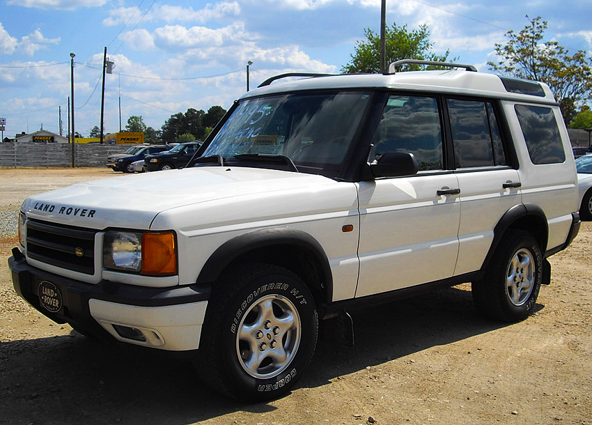 1999 Land Rover Discovery #10