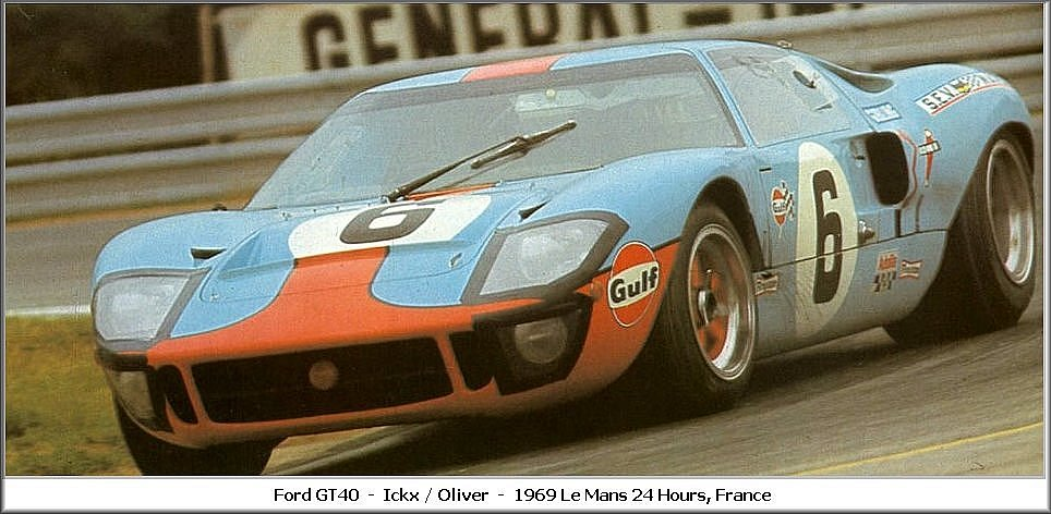 1969 Ford GT 40 #13