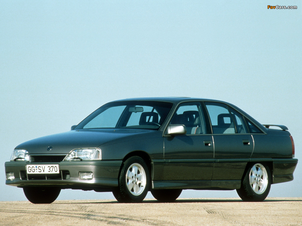 1987 opel omega photos informations articles. Black Bedroom Furniture Sets. Home Design Ideas