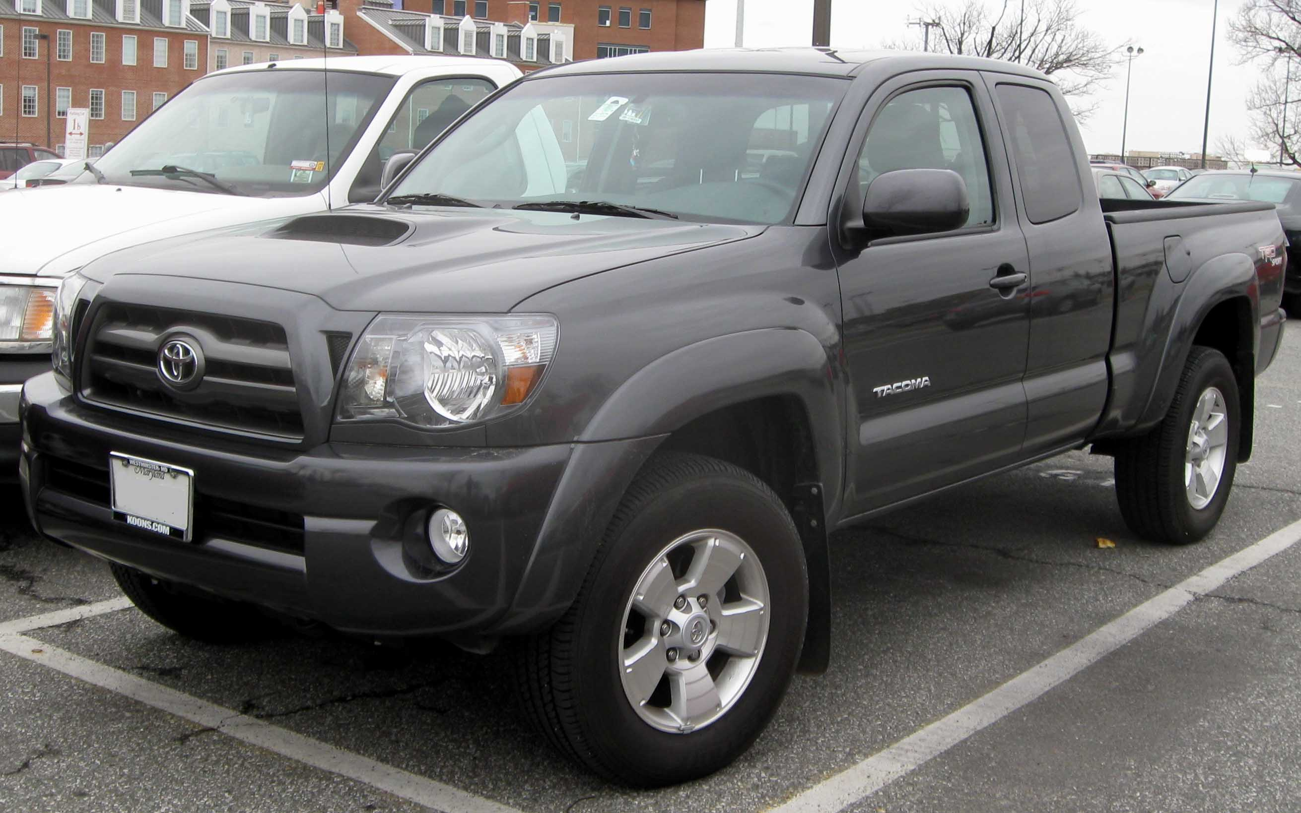 tacoma toyota black pin access cab wheels ideas