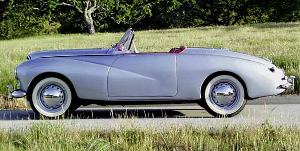 1953 Sunbeam Alpine #3